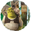 "18"" Shrek and Donkey Wanted Mylar Foil Balloon"