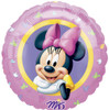 "18"" Minnie Mouse Portrait Mylar Foil Balloon"