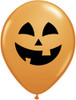 "11"" Jolly Jack Pumpkin Latex Balloons"