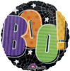 "18"" Boo Colorful Mylar Foil Balloon"