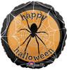 "18"" Spooky Spider Web Mylar Foil Balloon"