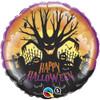 "18"" Spooky Tree Halloween Mylar Foil Balloon"