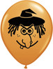 """5"""" Witch Face Halloween Latex Balloons"""