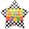 "18"" Thanks For All You Do! Mylar Foil Balloon"