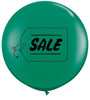 "36"" (3') Sale Emerald Green Latex Balloons"