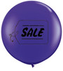 "36"" (3') Sale Quartz Purple Latex Balloons"
