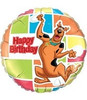 "18"" Scooby Doo Happy Birthday Mylar Foil Balloon"