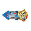 "35"" Have A Blast Rocket Mylar Foil Balloon"