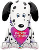 "31"" Puppy For Your Birthday Shape Mylar Foil Balloon"