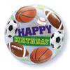 "22"" Birthday Sports Bubble Balloon"