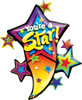 "42"" You're A Star Blast Shape Mylar Foil Balloon"