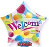 "22"" Star Welcome Bubble Balloon"