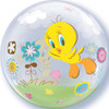 "22"" Tweety Bird Bubble Balloon"