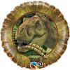 """18"""" Dino Dan T-Rex Birthday   Mylar Foil Balloon"""