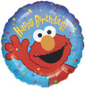 "18"" Elmo Birthday   Mylar Foil Balloon"