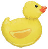 "29"" Rubber Duck Shape Mylar Foil Balloon"