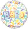 "18"" Baby Pastel Non- Foil Balloon"