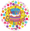 "18"" Birthday Cake Non-Foil Balloon"
