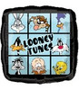 "18"" Looney Tunes Square Mylar Foil Balloon"
