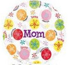 "18"" Mom Messages Mylar Foil Balloon"