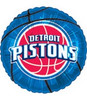 "18"" NBA Detriot Pistons Basketball Mylar Foil Balloon"