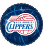 "18"" NBA LA Clippers Basketball Mylar Foil Balloon"