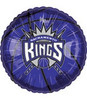 "18"" NBA Sacramento Kings Basketball Mylar Foil Balloon"