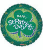 "18"" Happy St. Patrick's Day Shamrock Mylar Foil Balloon"