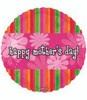 "18"" Happy Mother's Day Flower Fun Mylar Foil Balloon"