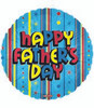 "18"" Happy Father's Day Fun Mylar Foil Balloon"