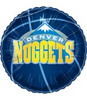 "18"" NBA Denver Nuggets Basketball Mylar Foil Balloon."