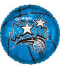 "18"" NBA Orlando Magic Basketball Mylar Foil Balloon."