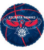 "18"" NBA Atlanta Hawks Basketball Mylar Foil Balloon."