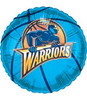 "18"" NBA Golden State Warriers Basketball Mylar Foil Balloon."