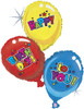 "40"" Birthday  Trio Shape Mylar Foil Balloon"
