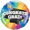 """36"""" Congrats Grad Spotlight Jumbo   Mylar Foil Balloon"""