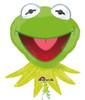 "35"" Kermit The Frog Shape Mylar Foil Balloon"
