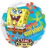 """28"""" Singing Sponge Bob Birthday   Mylar Foil Balloon"""