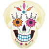 "22"" Day Of The Dead Shape Mylar Foil Balloon"