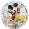 "18"" Mickey's Clubhouse   Mylar Foil Balloon"