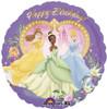 """18"""" Princess' Birthday   Mylar Foil Balloon"""