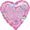 "18"" Princess Birthday   Mylar Foil Balloon"