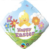 "18"" Easter Baby Chick   Mylar Foil Balloon"