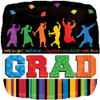 "18"" Grad Well Done   Mylar Foil Balloon"