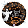 "18"" Ghostly Filligree   Mylar Foil Balloon"