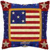 "18"" Old Glory Country   Mylar Foil Balloon"