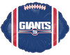 "18"" New York Giants   Mylar Foil Balloon"