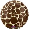 """18"""" Giraffe Tan   Mylar Foil Balloon"""