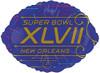 "18"" Superbowl XLVII  Mylar Foil Balloon"