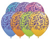"11"" Damask-A-Round Contemporary Assortment Latex Balloons"